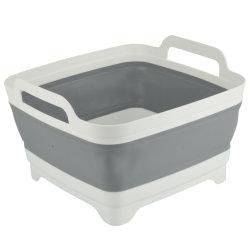 [لرج كبستي] [بورتبل] بلاستيكيّة [فولدبل] قابل للانهيار سليكوون دلو, يطوي دلو لأنّ مطبخ خارجيّة يخيّم