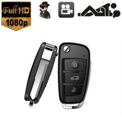 HD de 1080P Carro Chaveiro Mini-câmara oculta DVR Dectect Movimento visão nocturna com infravermelhos
