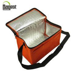 氷はまたは絶縁した6/12を昼食のピクニック熱冷却のための印刷されたより涼しい袋をびん詰めにすることができる暖まる