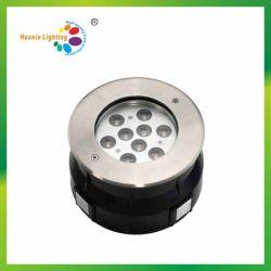 Warme runde LED Tiefbaulampe des Weiß-3000k 9W für Verkauf
