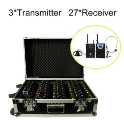 système pour visite guidée de charge sans fil le cas (3+27 PC PC émetteur récepteur)