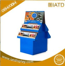 Point of Sales Papierbildschirmanzeige-Zahnstange, Ausstellung-Ausstellungsstände für Geschenk-Karten