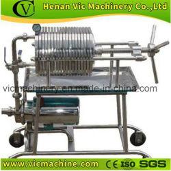 Nieuw Type 304 de Pers van de Filter van de Eetbare Olie van het Roestvrij staal
