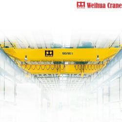 Puente de la erección Weihua viajar Trolley Almacén de la grúa grúa 35 Ton.