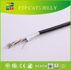 24AWG銅FTPケーブルが付いているFTPケーブルCat5e