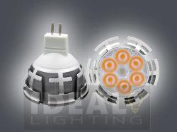LED 전구 MR16 Gu5.3 6X1w 12V 실버 셸