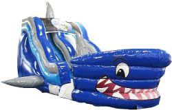 Cursore esterno gonfiabile di vendita caldo, cursore dello squalo/scorrevole di acqua gonfiabile/giocattoli gonfiabili