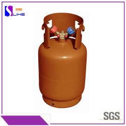 12L Ce el cilindro lleno de refrigerante R407c Mezcla para el mercado de la UE