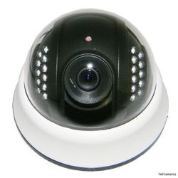 1/3' 1200tvl CMOS V8330+Fh8510 Analog IR Dome Camera Plastic Housing