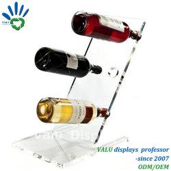 L'acrylique de la Bière Vin Levitating magnétique d'affichage Affichage avec logo personnalisé