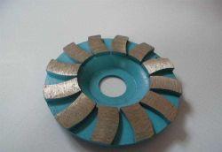 콘크리트 분쇄 세그먼트 금속 본드 다이아몬드 컵 연삭 휠