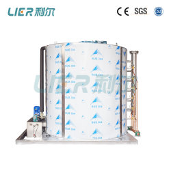 generatore della macchina di ghiaccio della scala dell'evaporatore SS304 del sistema della macchina di ghiaccio del fiocco 30ton