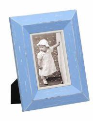 Cor Azul Brilhante moldura de madeira para Home Deco