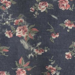 WomenのClothesのためのあや織りPrinted Knitted Denim Fabric
