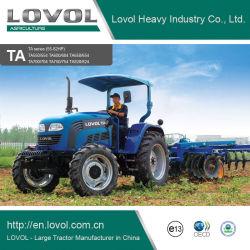 Tractoren Met lange levensuur van de Landbouw van het Landbouwbedrijf 55-82HP van de Kwaliteit van China de Beste 4WD