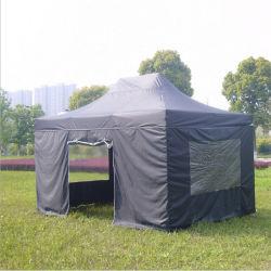 3X4.5m стальная рама складной навес палатка с боковой стенки