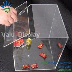 Boutique de la flotte Chambre forme boîte de bonbons candy écope distributeur en plastique acrylique transparent Candy Bin