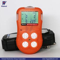 Bx616 portable Multi 4 en 1 détecteur de gaz pour l'industrie pétrolière et gazière