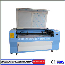 Double-chefs de chiffon de tissu de CO2 Machine de découpe au laser Gravure 1600*1000mm
