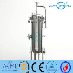 Acero inoxidable Caja del filtro de agua industrial