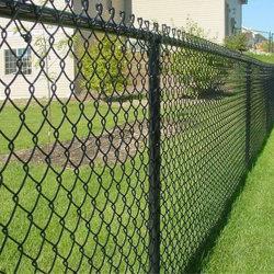 Горячий оцинкованный/PVC звено цепи сад проволочной сеткой безопасности утюг металлические фермы ограждения для сада