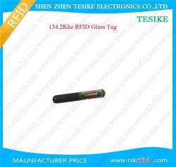 Fdx-B Bio-Glass Hitag S256 em4305 Ntag216 animal puce RFID