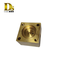 Densenは電装品の蝶弁の機械化のための銅の機械化の部品をカスタマイズした