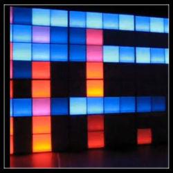경계벽을%s DMX RGB 화소 LED 위원회 빛