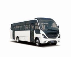 Diseño de lujo en América Latina interurbanos delantera del motor del vehículo de turismo de lanzadera con 7,6m, 8.3m, 8.9m versión opcional