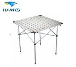 CL2A-AT05 Comlom portable compact en aluminium léger pliage Table de roulement