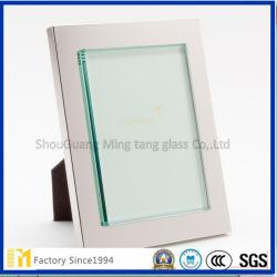 1.5Mm 1.8mm 2mm, comme le verre flotté clair de taille de coupe pour cadre photo et de meubles au SGS de l'inspection