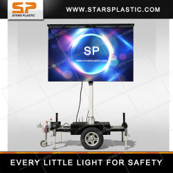 トレーラーを広告する移動式LEDの屋外の表示画面