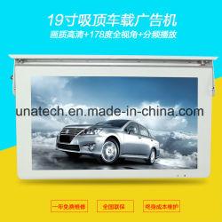 Haut de page la pendaison de la signalisation numérique Bus publicité système Android/PC Windows Media Player écran TV LCD Affichage du moniteur