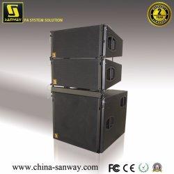 """V8-V-Sub 10 pouces double haut de page Le Président et 18""""+12"""" sous l'Orateur, système de line array actif/passif PA cardioïde audio caisson de basses, enceinte de line array professionnel de la colonne"""