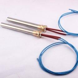 Aqueça o Fundador 12V Cartucho de alta temperatura em aço inoxidável do aquecedor do tubo de aquecimento