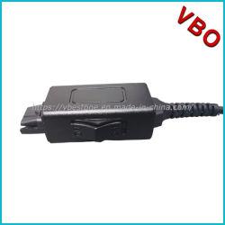Call Center гарнитуры Qd кабель Y разветвитель адаптер инструктор кабель с кнопкой отключения звука для учебного центра