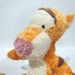 Il maiale della tigre della bambola di Piush del fumetto ha lasciato l'automobile dei regali di festa dei giocattoli del canguro di Eeyore dirigersi i regali di Natale dei giocattoli dei bambini della decorazione