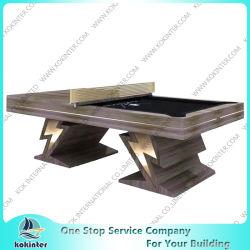 Горячие продажи дешевой цене бильярдный стол из дуба с долины детали