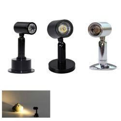 1W / 3W luz LED para armário, 85-265V AC de parede LED Luz, Luz do contador, Tela de LED da retaguarda