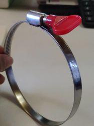 klem van de Slang van het Type van Duitsland van de Grootte van de Band van 12mm de Grotere met de Plastic Schroef van het Handvat