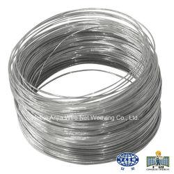 Électro-galvanisé Acier recuit noir sur le fil de liaison pour la construction