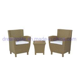 Плетеной диван, удобная мебель в саду