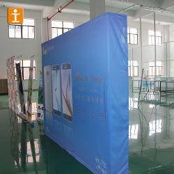 China-Fertigung-Firma-magisches Band knallen oben Bildschirmanzeige-Fahnen-Standplatz