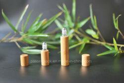 Venda por grosso de bambu da série de bambu vaso Rollball Pacote Cosméticos