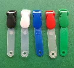 ID カード名バッジホルダー用のプラスチッククロコダイルバッジクリップ