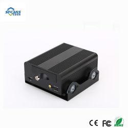 Carte SD Mdvr DVR kit pour véhicule Mobile 4CH CCTV en temps réel H. 264 4CH 720p voiture DVR Mobile