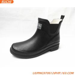 2021 Nova Senhora Fashion Chelsea curto à prova de tornozelo botas de borracha, sapatos de chuva com pega