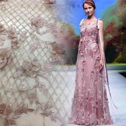 3D de bordado de prendas textiles tejidos de encaje Accesorios