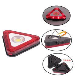 2 em 1 Mini-Luz de trabalho triangular com alarme vermelho (33-2Z10112)