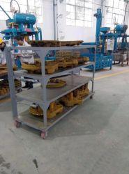 القوالب الآلية بدون فلاسكنفل آلة خط الإنتاج المصبوبات المصبوغ صنفرة الرمل ماكينة لعمل غطاء فتحة